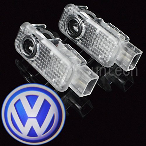 VW Passat LED Logobeamer